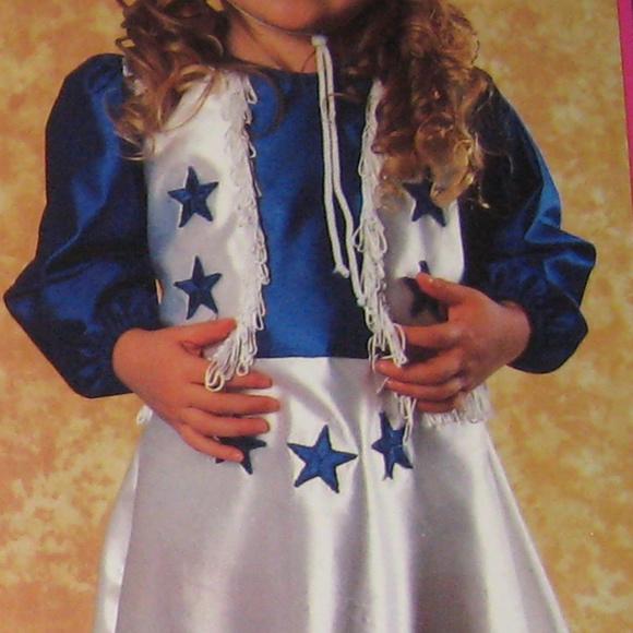 97671d41f Dallas Cowboys Cheerleader Halloween Costume Kids